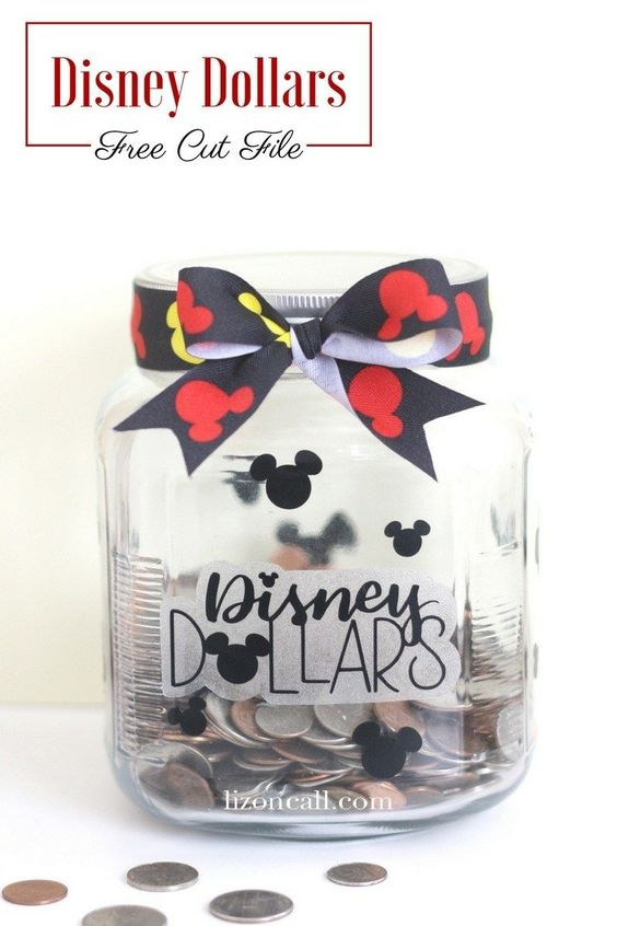 Disney Dollars Jar