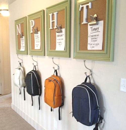 Custom Backpack Station