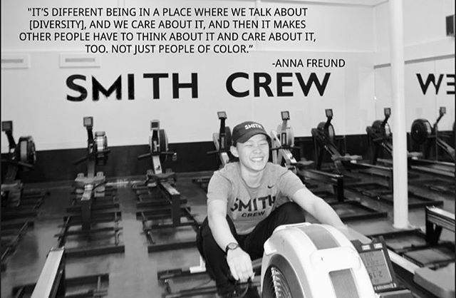 New interview coming out soon! Get excited for Anna Freund, captain of the Smith Crew team and club Ice Hockey goalie, as she breaks down her experience in Smith Athletics! 🚣‍♀️🏒