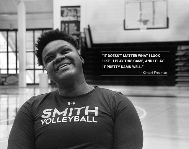 Keep your eye out for the drop of our next interview - Kimani Freeman, junior captain of Smith Volleyball!