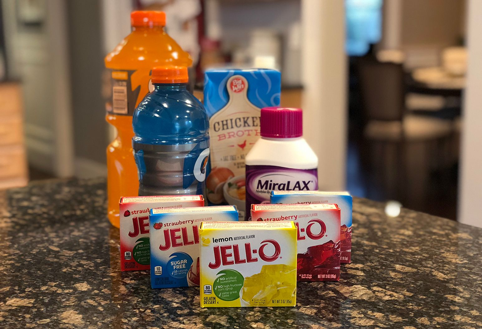 Items you may want while prepping  *These products are just examples. I am not advising that anyone use only these products for colonoscopy prep