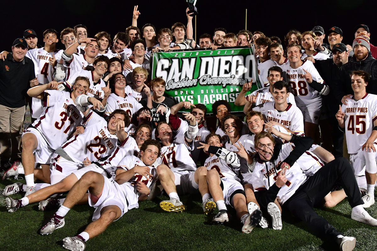 Torrey Pines Lacrosse - 2019 CIF San Diego Section Champions