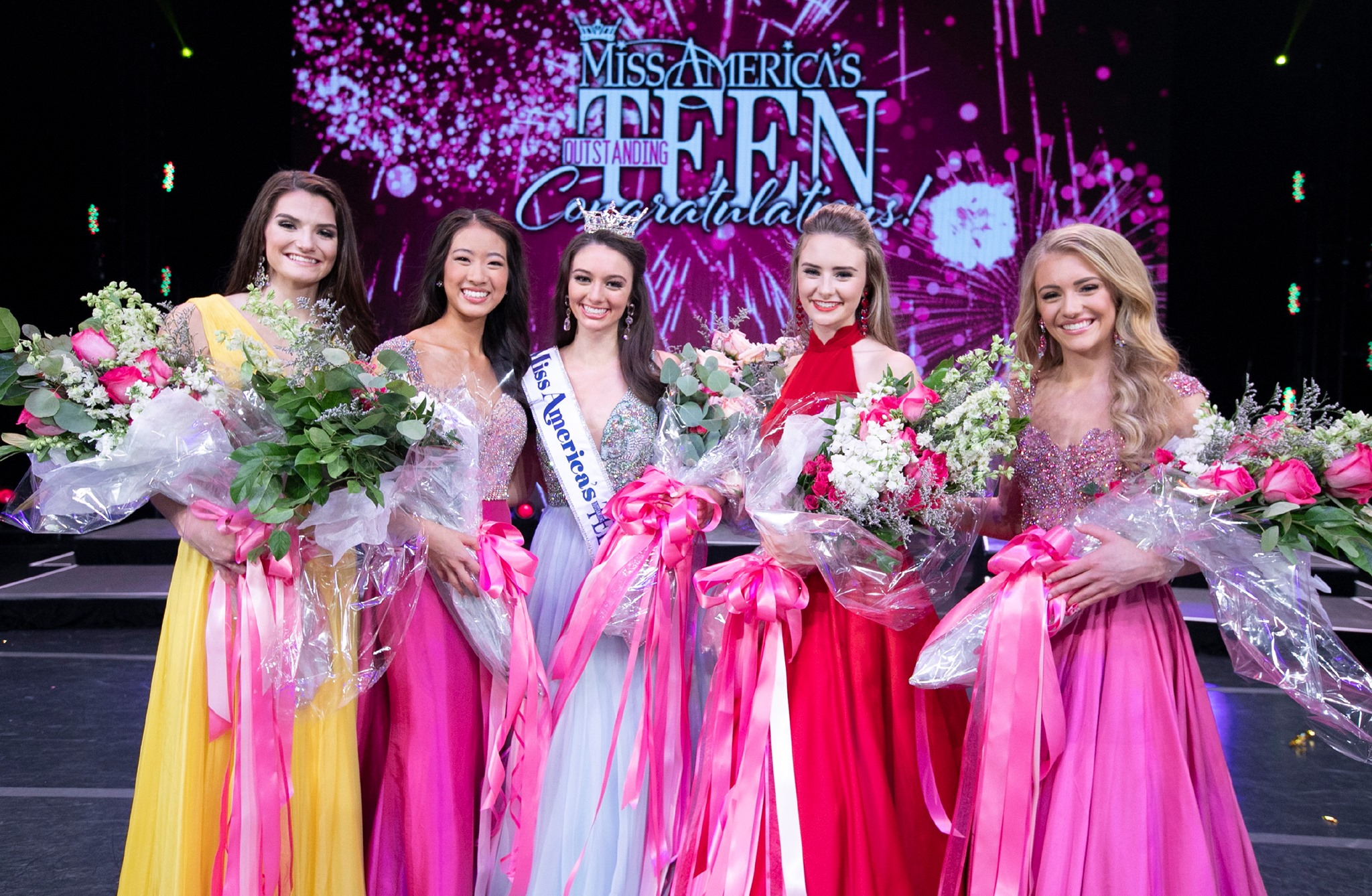 Miss America's Outstanding TEEN 2019 Payton May and finalists.
