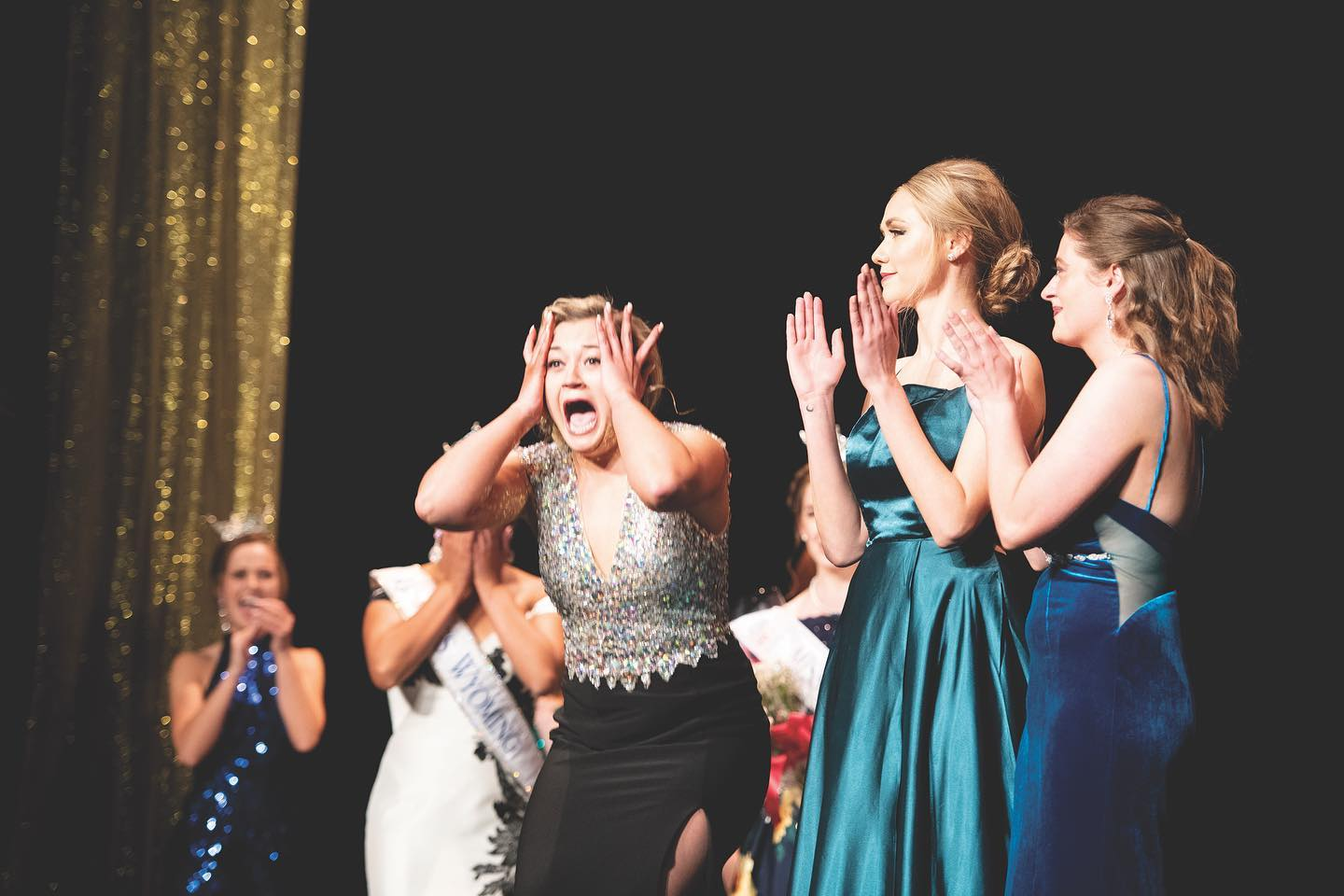 Moment Jordan Hardman finds out she is Miss Wyoming 2019!