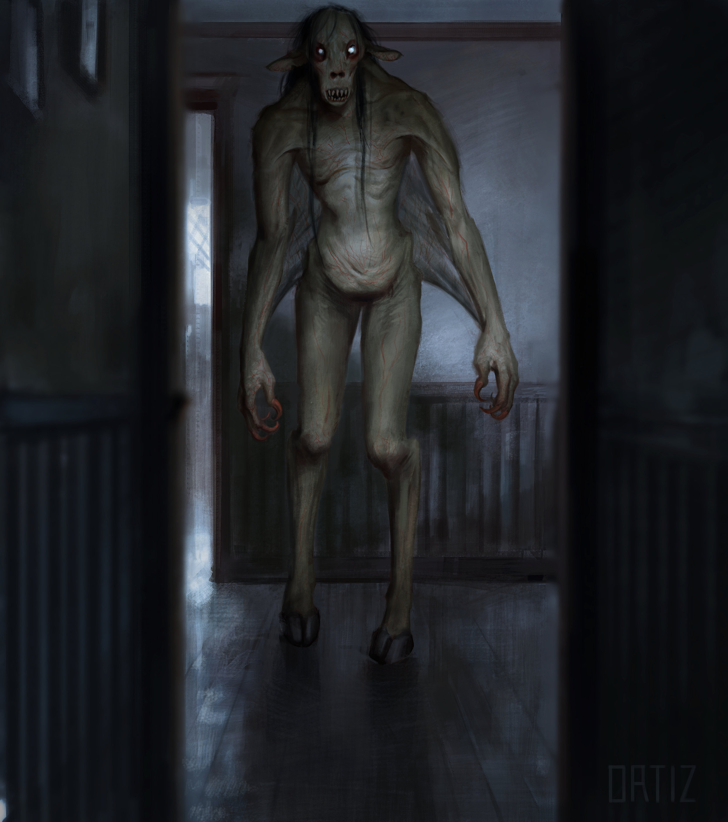 CONCEPT ART - for The Monster by Karla Ortiz