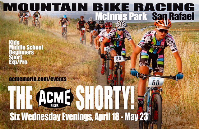 🚵‍♂️🚵‍♀️🚵‍♂️The 2018 season of the Shorty starts Wednesday, April 18th!🚵‍♂️🚵‍♀️🚵‍♂️ Once again, to celebrate another year of Marin's only short track series, we're giving away FREE entry to the *entire 2018 series* PLUS two dozen of the Shorty's legendary 🍪 chocolate chip cookies 🍪 to one lucky winner. 👉To enter: ✔️Follow @theshortymarin and @acmebikes on IG ✔️Tag someone who you'd like to see racing at the Shorty this year. You can enter more than once by tagging additional people in additional comments. 👉Winner will be announced 4/11/18. Tap link in bio to find out more about this year's shorty or copy and paste: http://www.acmemarin.com/events/ • • • #acmeshorty #instamtb #singletrack #singletrackracing #mtblife #mountainbike #mtbrace #mountainbikes #mountainbiker #mtblove #cycling #bikelife #rideordie #raceday #mtb #marin #bayareabikelife #bayarea #sanrafael #acmebikes #marinshorty #mtbracing #mtbshorttrack #shorttrack #mtb4life #mtbwomen #mtblove #outsideisfree #kidsonbikes #localbikeracing