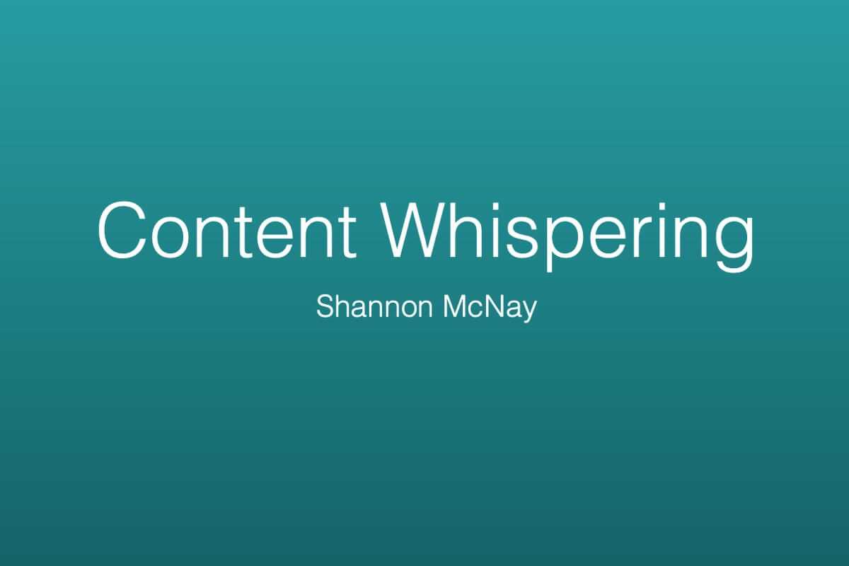 - Interested in learning more? Check out my presentation on how to create a content strategy here.