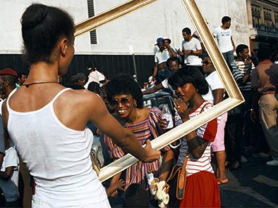 "Lorraine O'Grady, ""Art Is…"" 1983. Photo: Lorraine O'Grady"