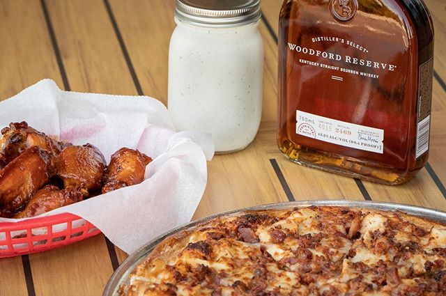 Did you know here at Bourbon House we make our own ranch? It's so delicious that we even sell it by the jar. We also offer Bourbon BBQ wings 🍗 What's better than homemade ranch, wings, and bourbon? Absolutely nothing.