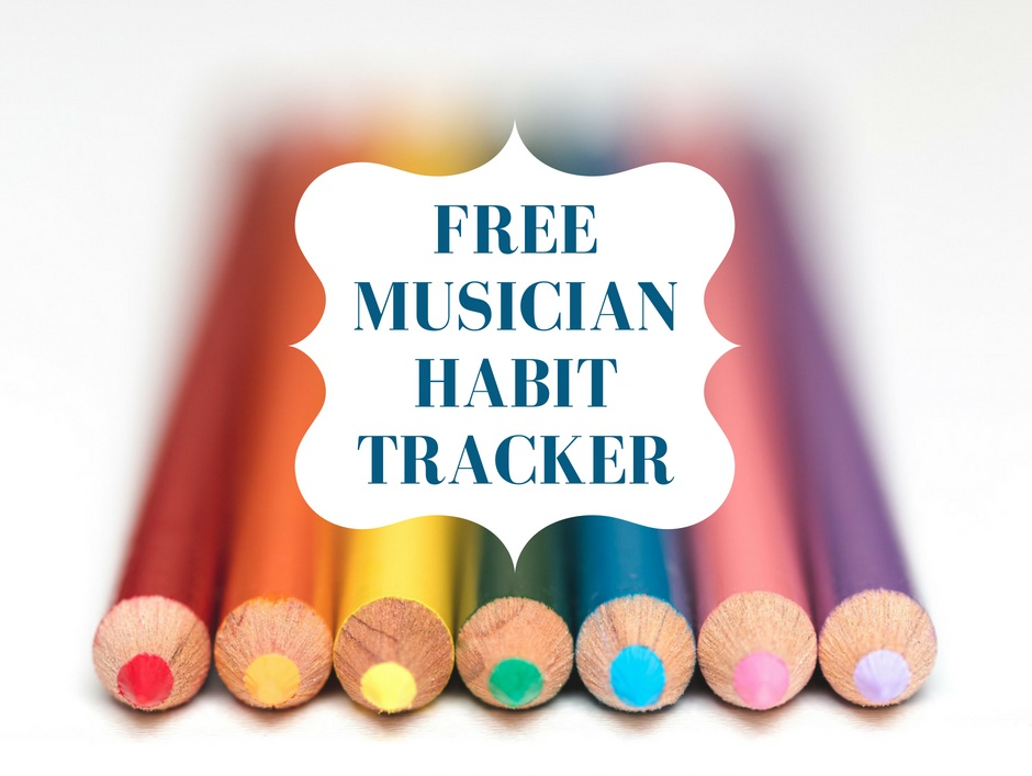 MUSICIAN HABIT TRACKER - This worksheet helps you decide on, track, and add habits to your life in a sustainable way - support your whole creative self!