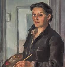 Self-portrait, 1954, oil on canvas, AGSA collection