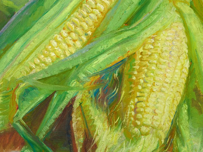 Detail from Corn Cobs 1938 Collection of AGNSW