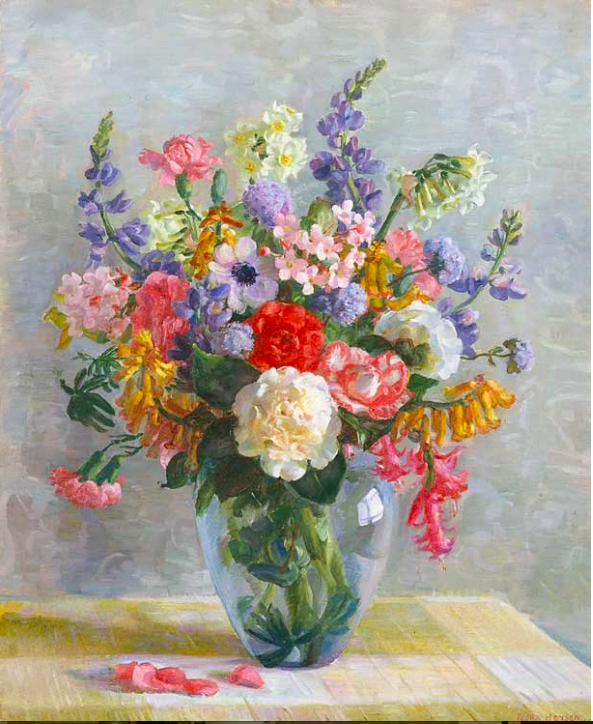 Spring flowers  1938 Collection of Art Gallery of NSW