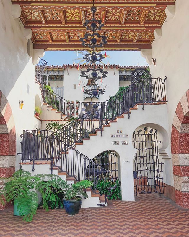 Santa Barbara architecture is just different.
