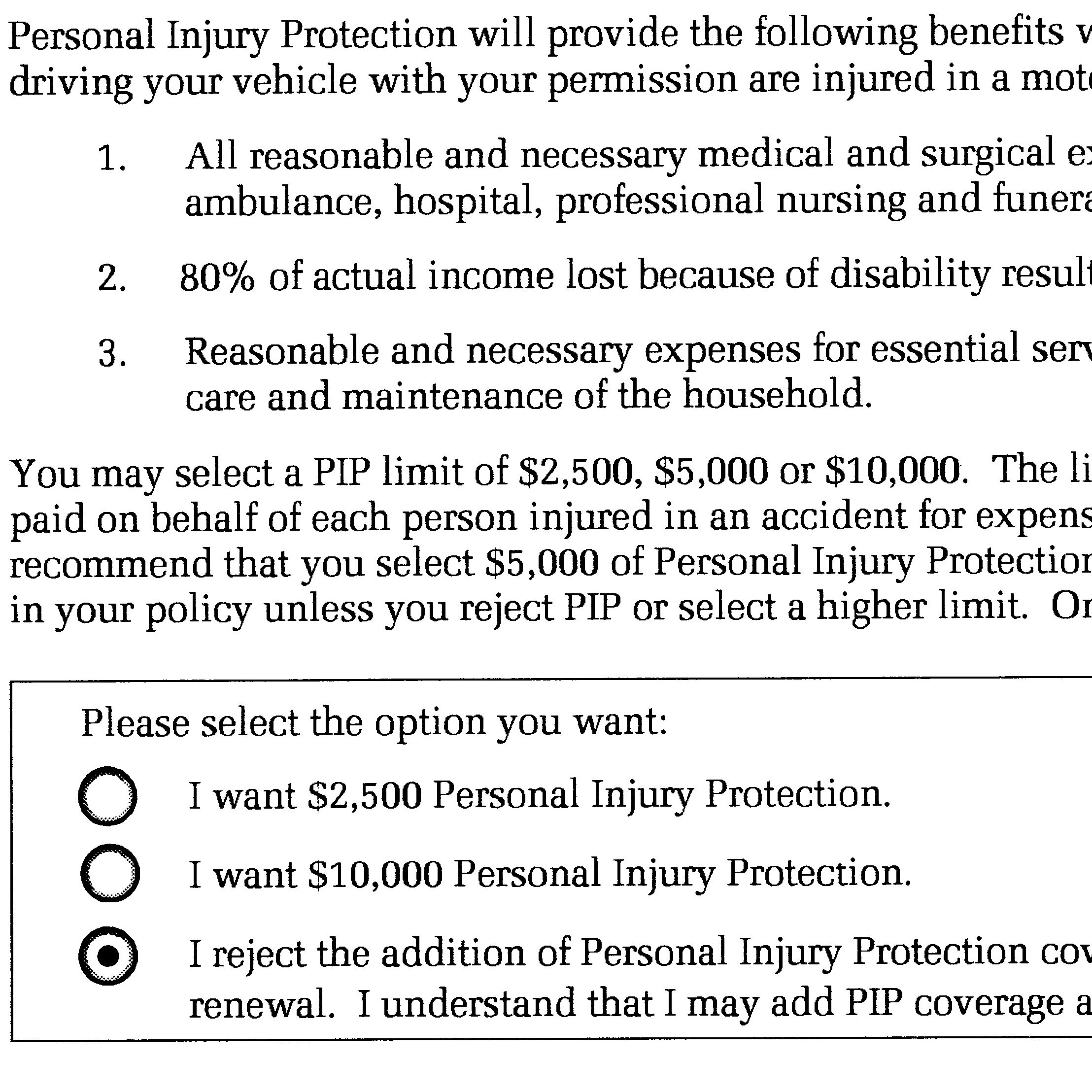 Understanding Texas Personal Injury Protective Coverage The Law Office Of Robert Davis Jr P L L C