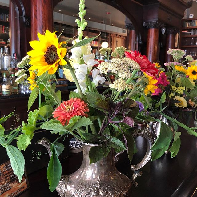 First flowers to Asterisk Supper Club!  Thank you for letting us be part of your restaurant.