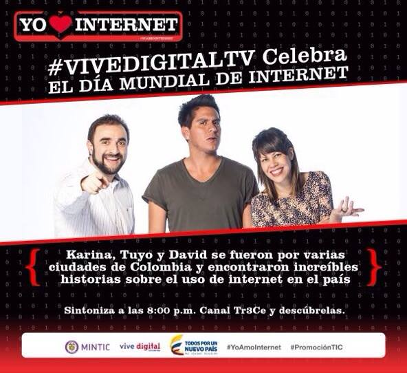 I also had the opportunity to be one of three characters in a traveling challenge sitcom where web technology is made available to regular citizens, and their stories are shared through a television show called VIVE DIGITAL (2015-2016)