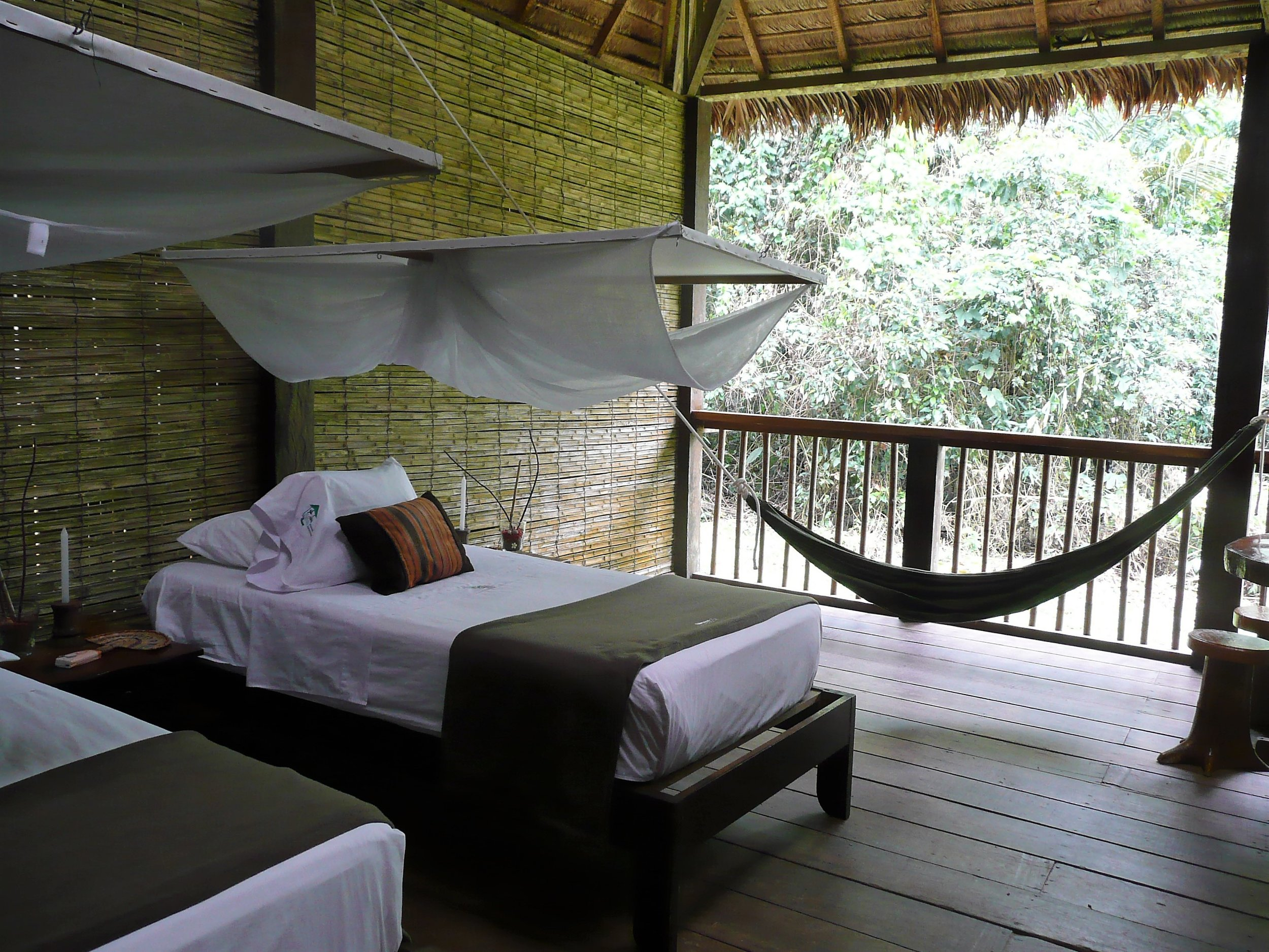 Our eco-tourism cabin in Puerto Maldonado, Peru