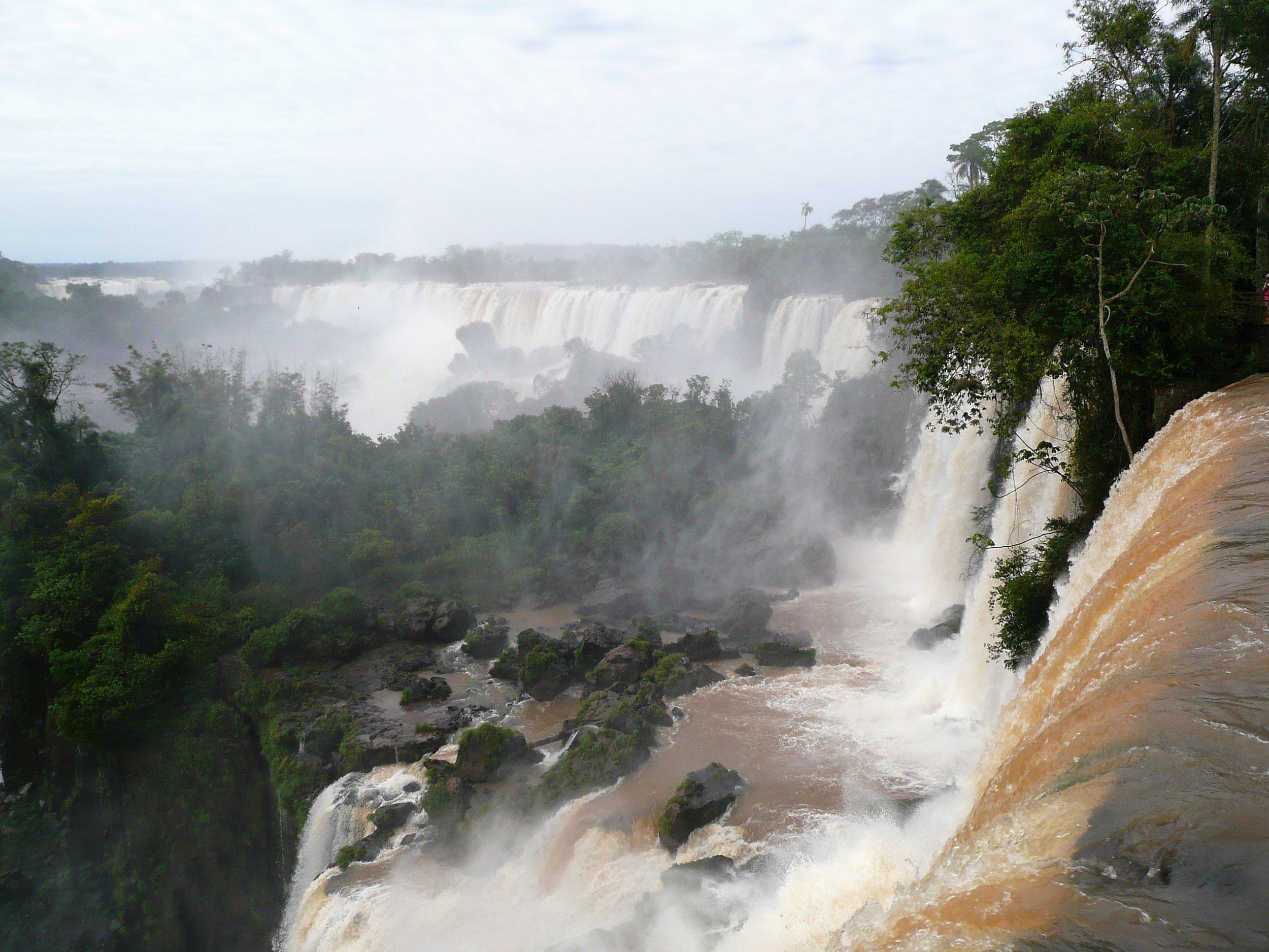 Above Iguazu falls (Argentinian side)