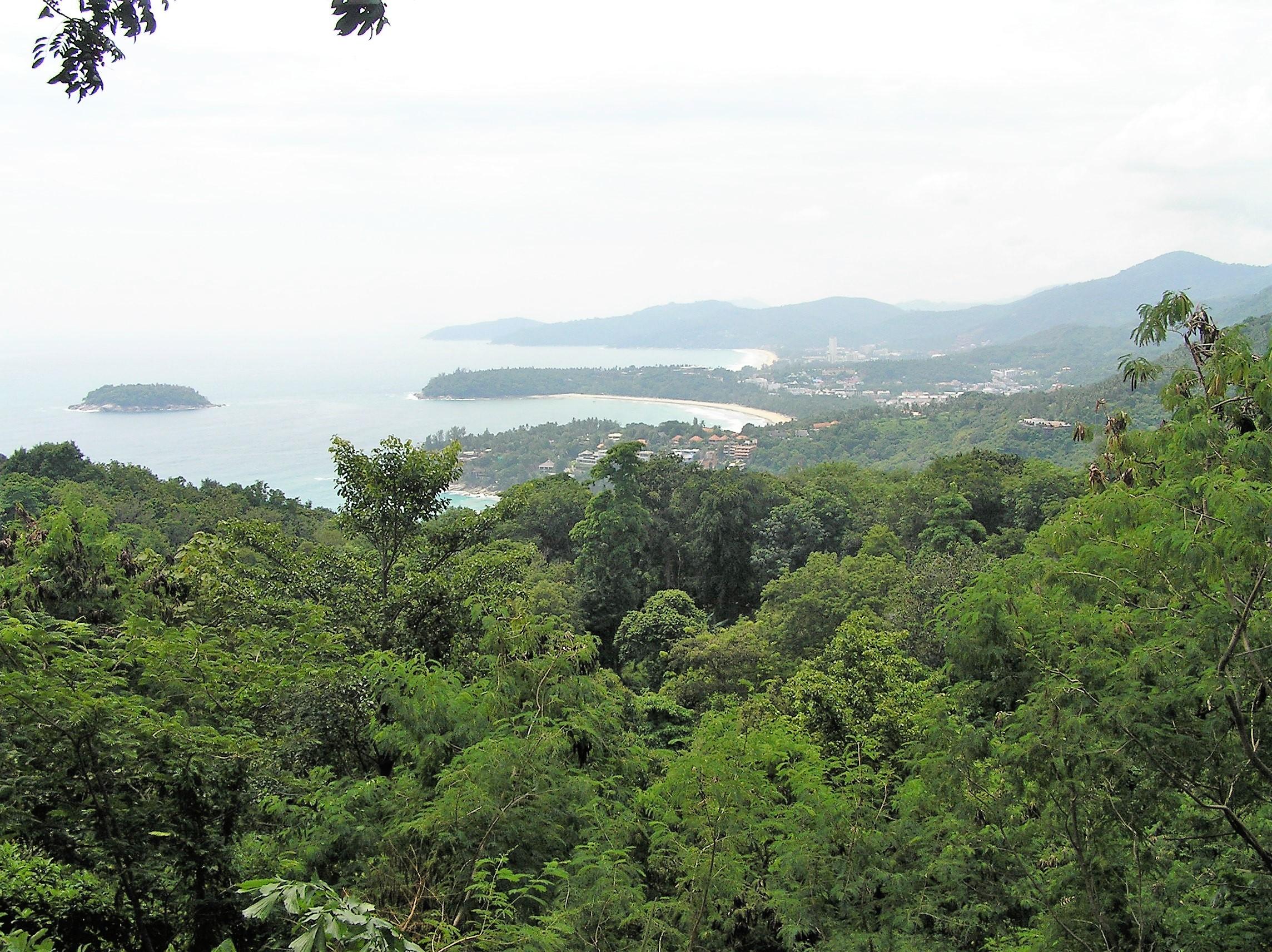The three beaches of Phuket