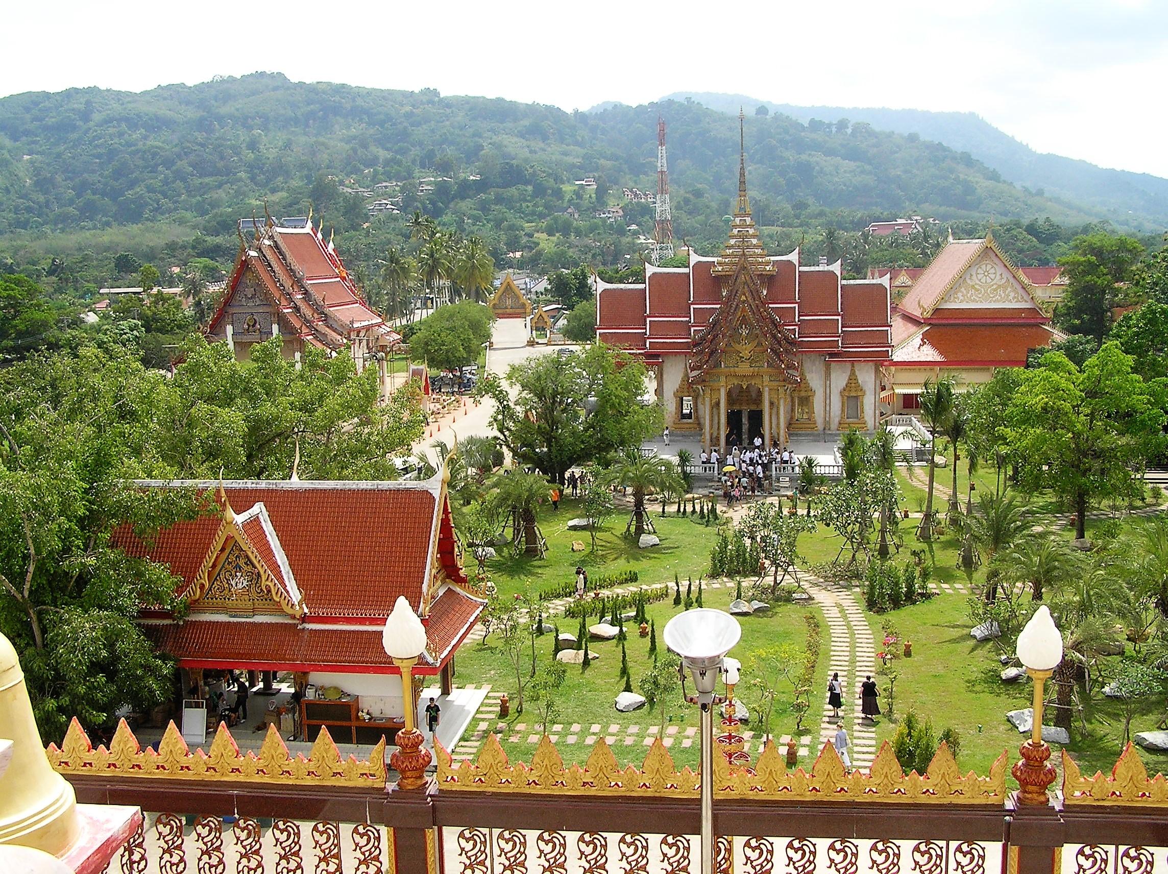 Buddhist Temple, Phuket, Thailand