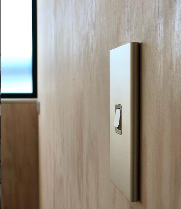 Customised light switch