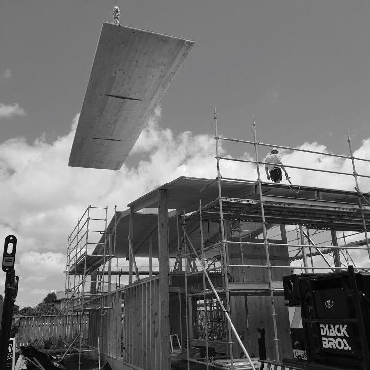 Installation of Prefab Panels