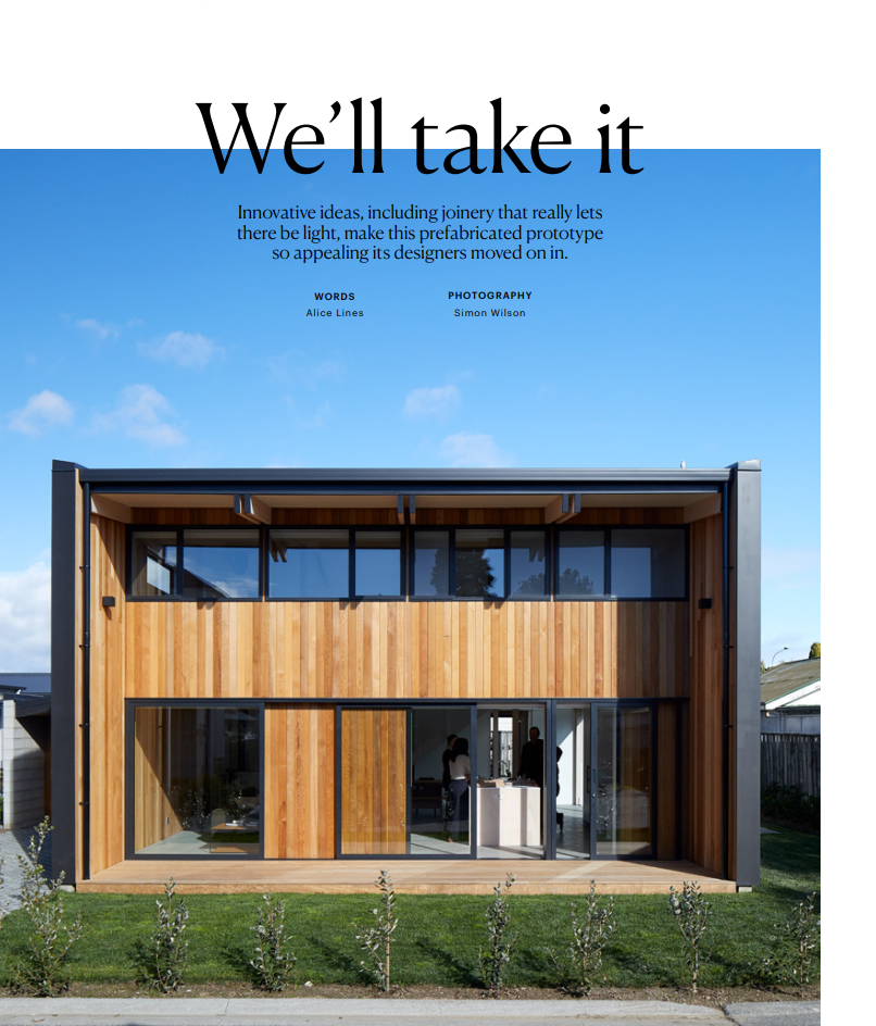 modhouse features in homestyle magazine - We were elated to be the first property featured by homestyle magazine as part of a new collaboration with First Windows + Doors - 'Outside In'.In addition to the print article (in the Oct/Nov 2019 issue), homestyle and First also produced a short video and podcast of the modhouse project.Credit: As mentioned, this story is part of the 'Outside In' series, produced by homestyle magazine, in association with First Window & Doors. For the full story, click here.