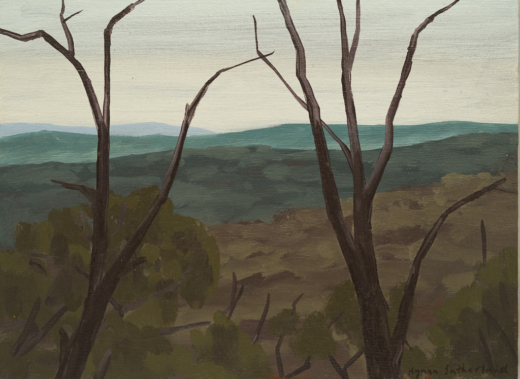 Landscape (Quartz Hill), 2018  22 x 30cm  Oil on Canvas on Board   SOLD