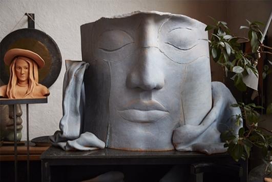 Bild från Hertha Hillfons atelje – herthahillfon.se