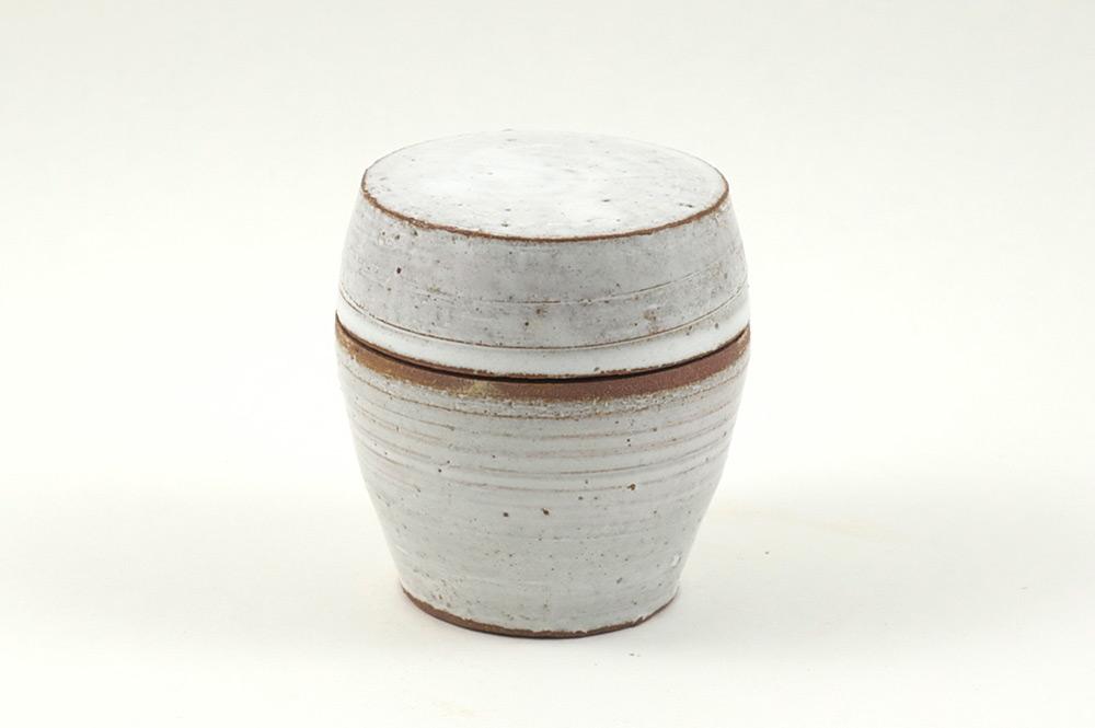 Burk med Lock/Jar with Lid -