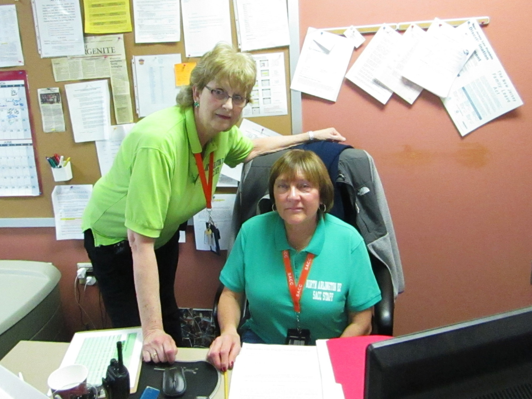 Site Director {left} and Program Director {right} are Certified Teachers with CPR and First Aid Certifications.