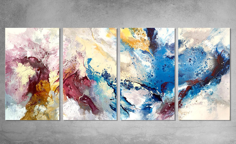 Papillion  200x90cm Acryilc and Spray Paint on canvas.  INQUIRE.