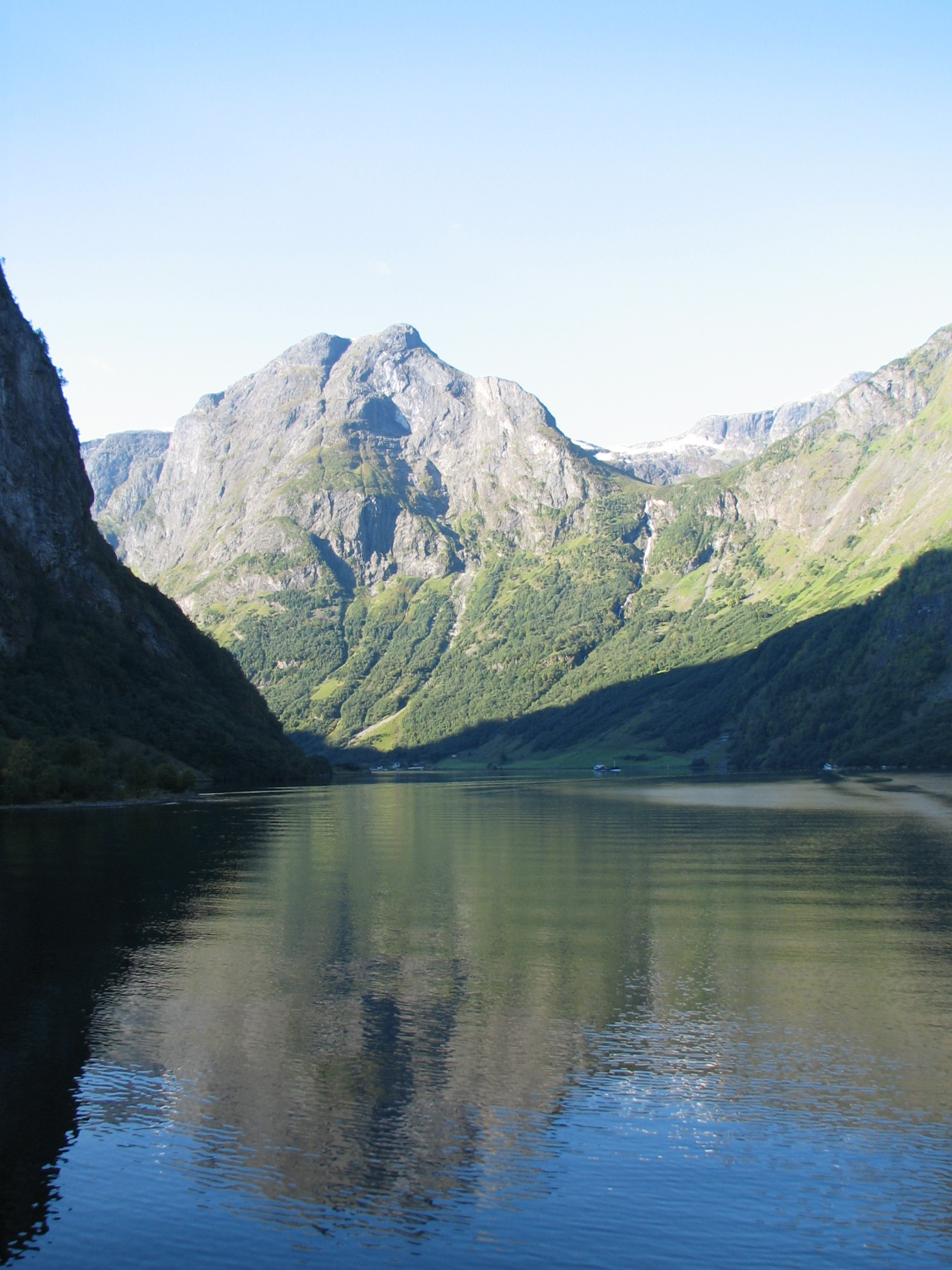 A more classic view from Nærøyfjord (pronounced NAIR-oy-fiord)