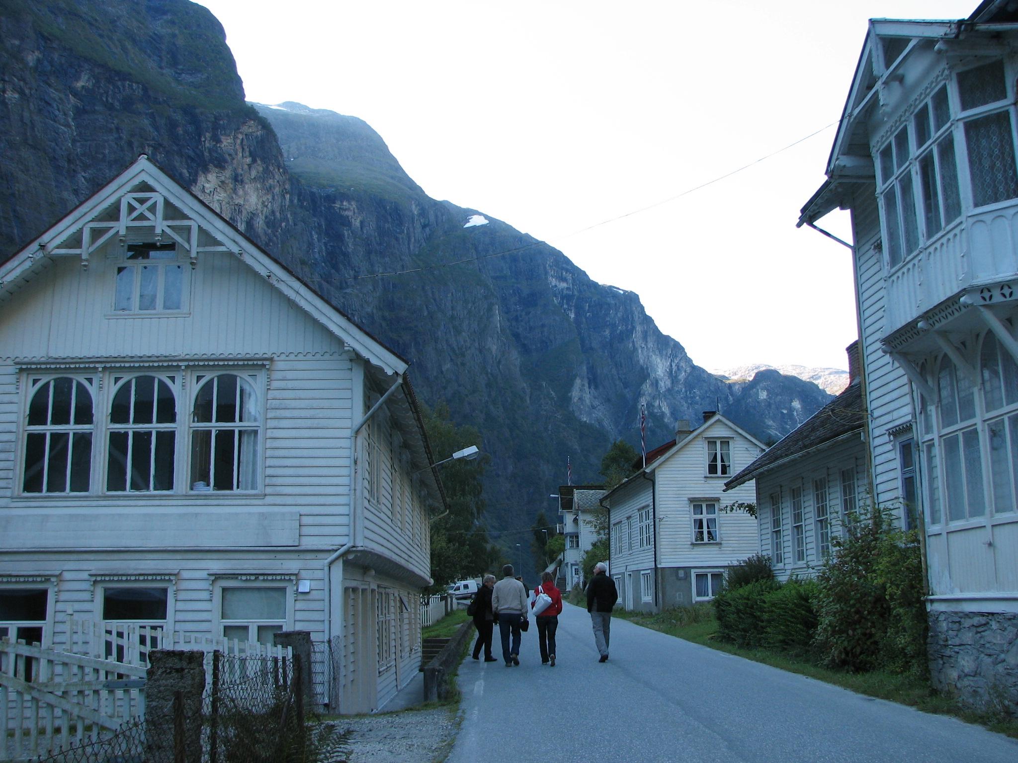 Main street, Gudvangen