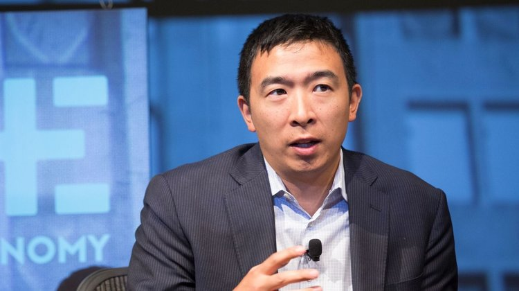 Andrew Yang Iowa Caucus Watch