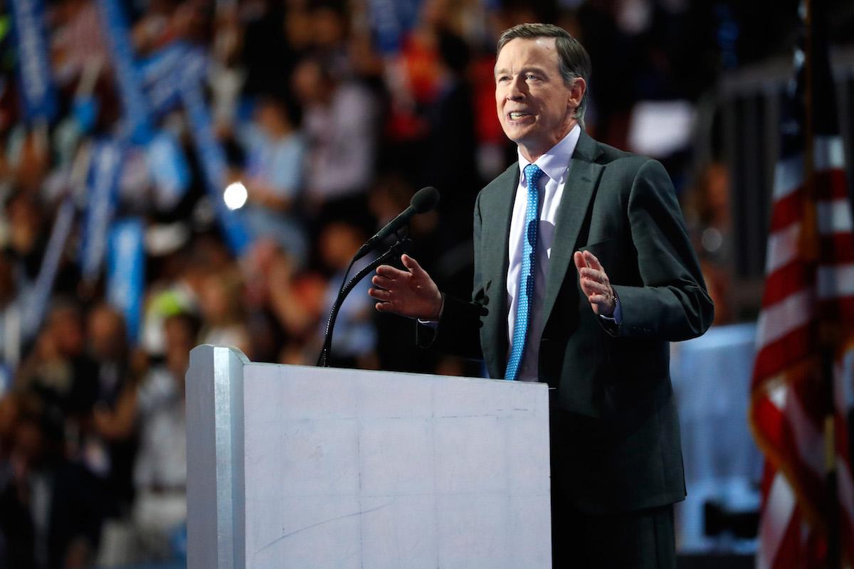 John Hickenlooper Iowa Caucus Watch