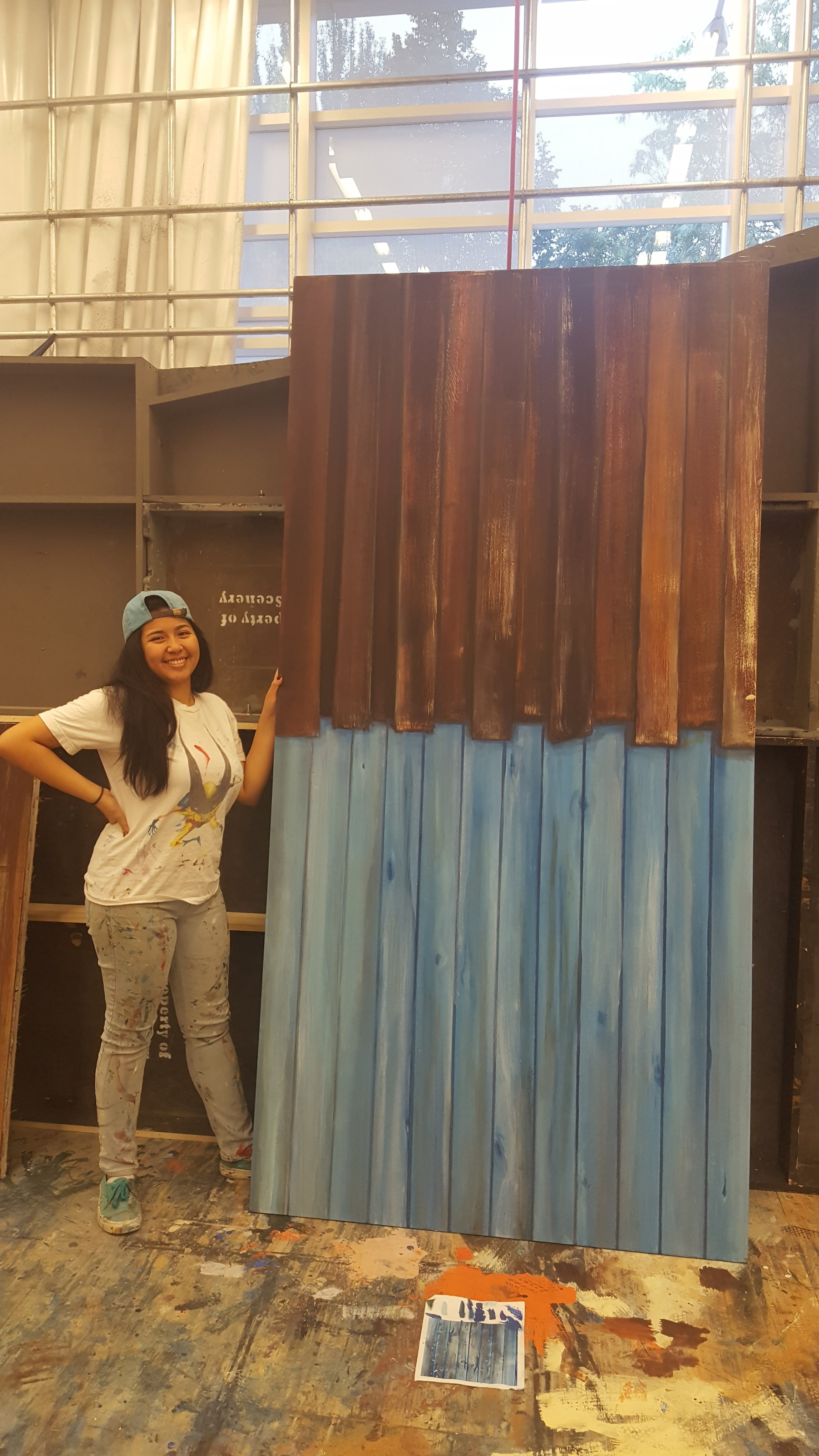 Scenic Painting Project - Wood
