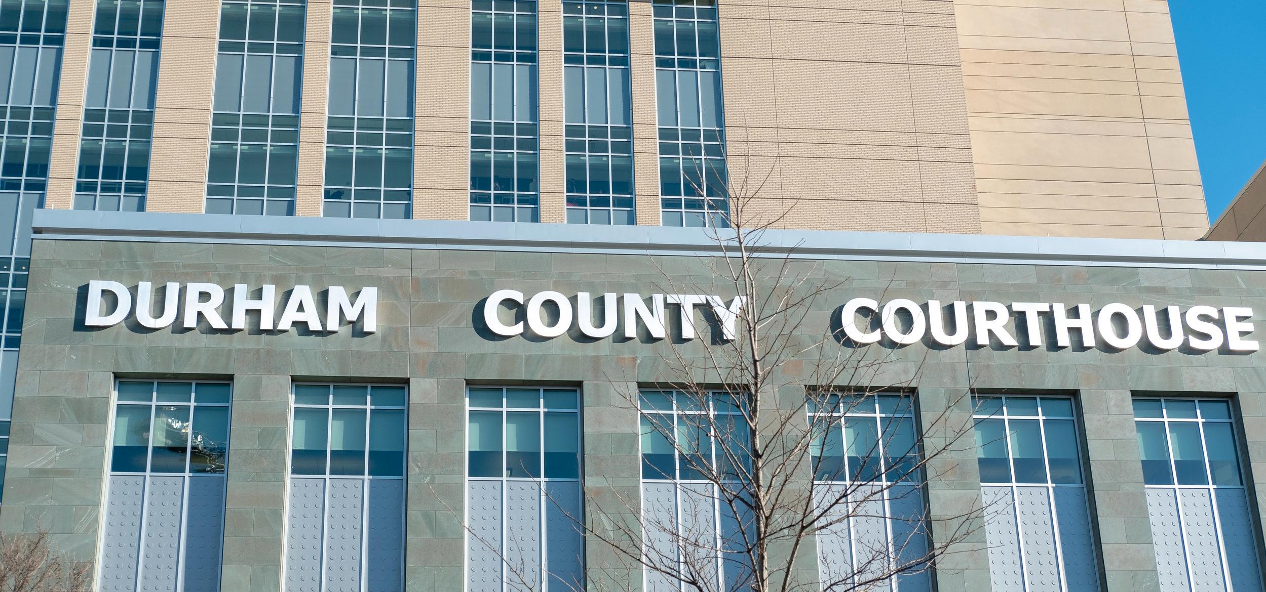 Durham County Courthouse. 2018. Photo credit: Karla Jimenez-Magdaleno