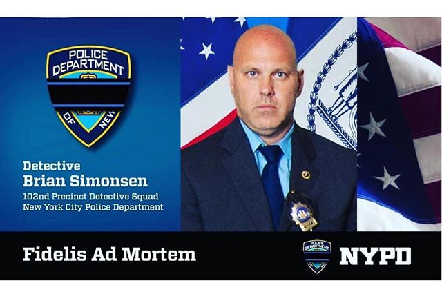 Mourning the loss of our colleague, friend, and brother, Detective Brian Simonsen.  Please keep him and his family in your prayers 💙