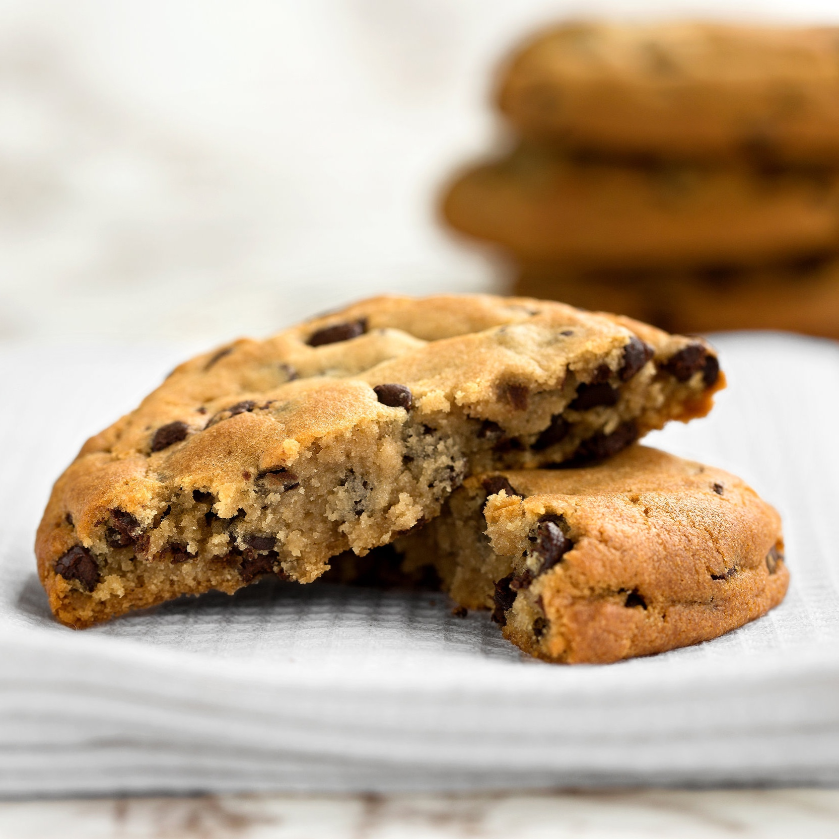 Chocolate Chip Cookies - Soft and chewy chocolate chip cookies.