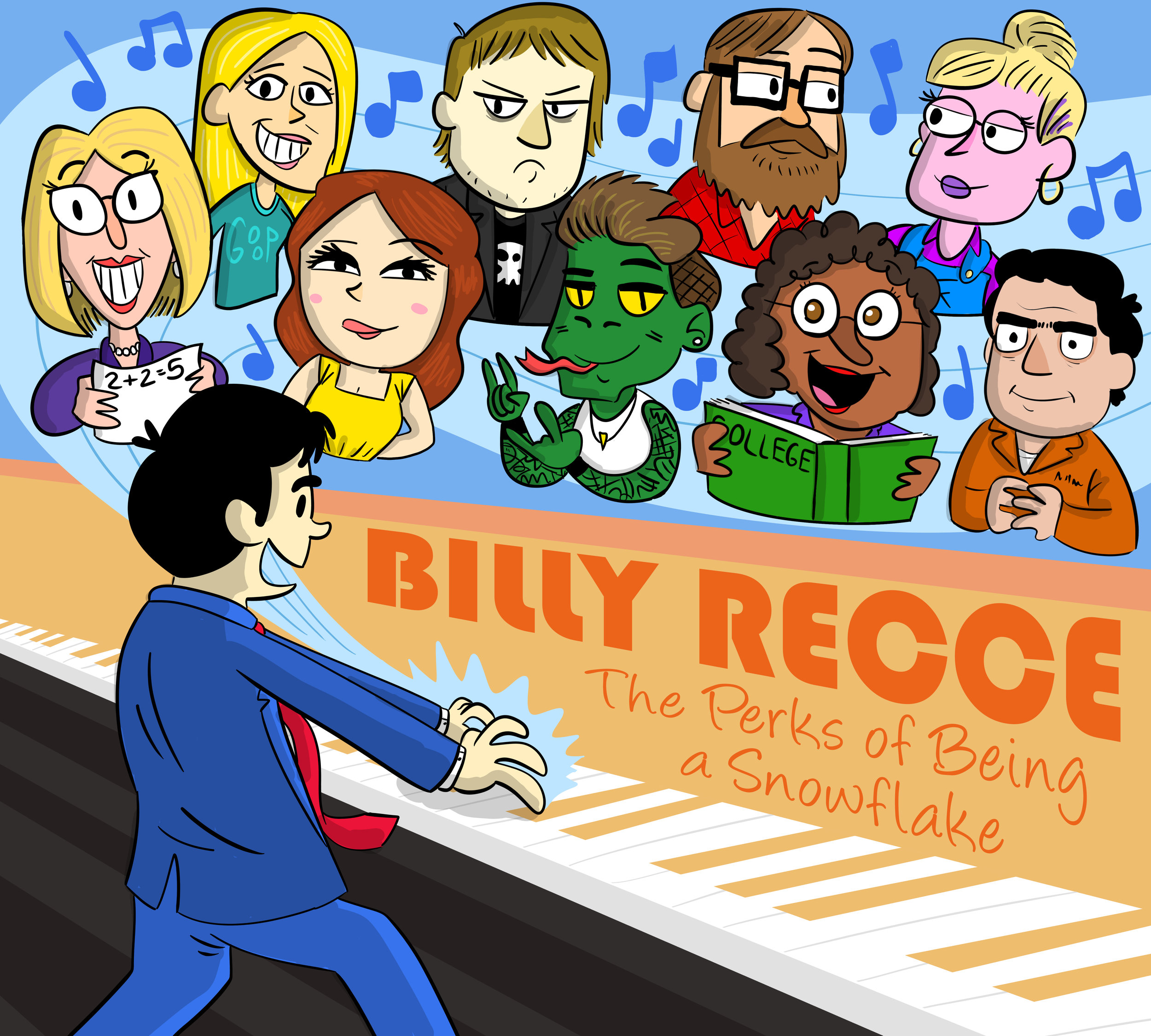 Billy Recce: The Perks of Being a Snowflake