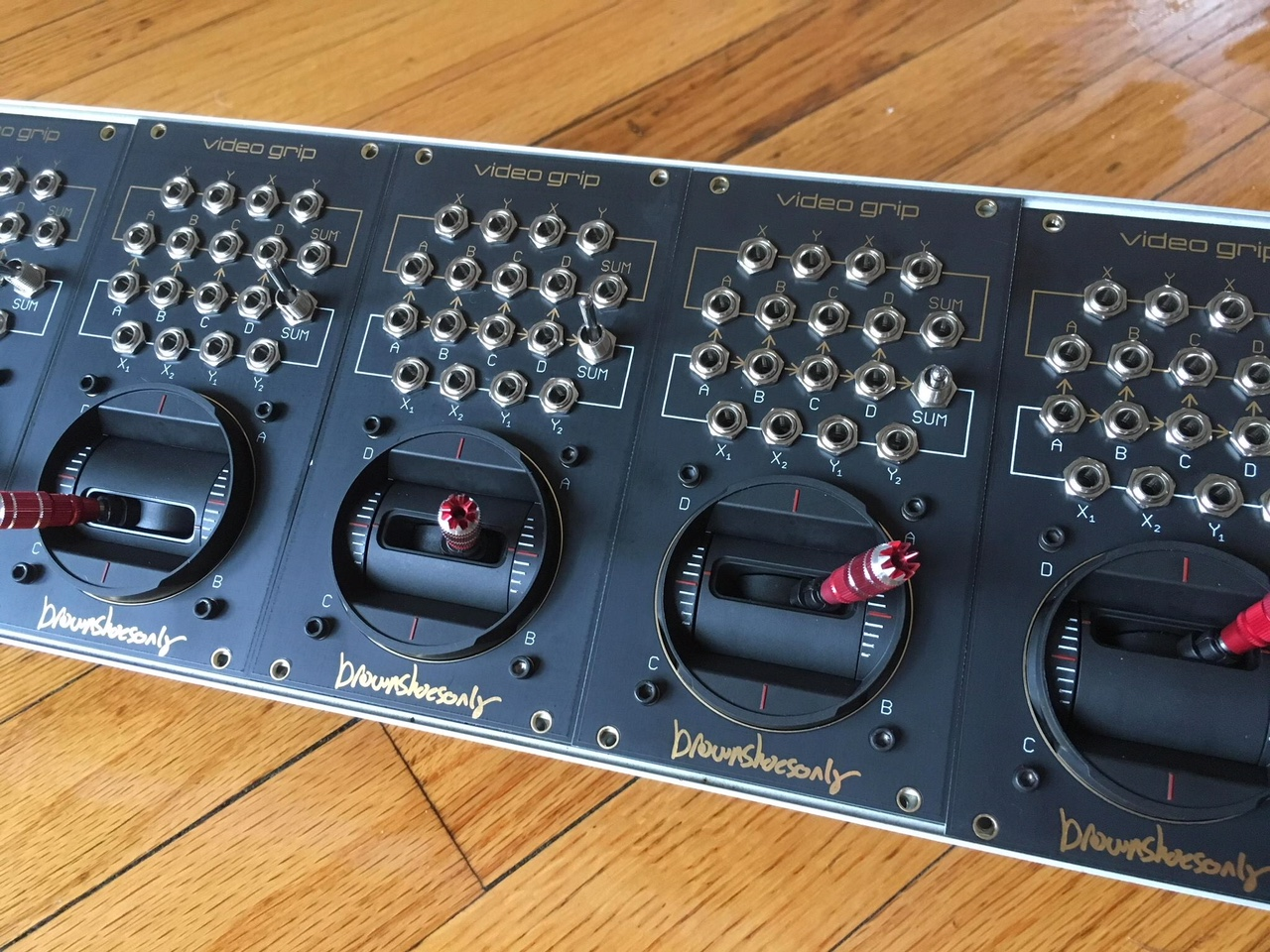 video grip - complex video rate joystick