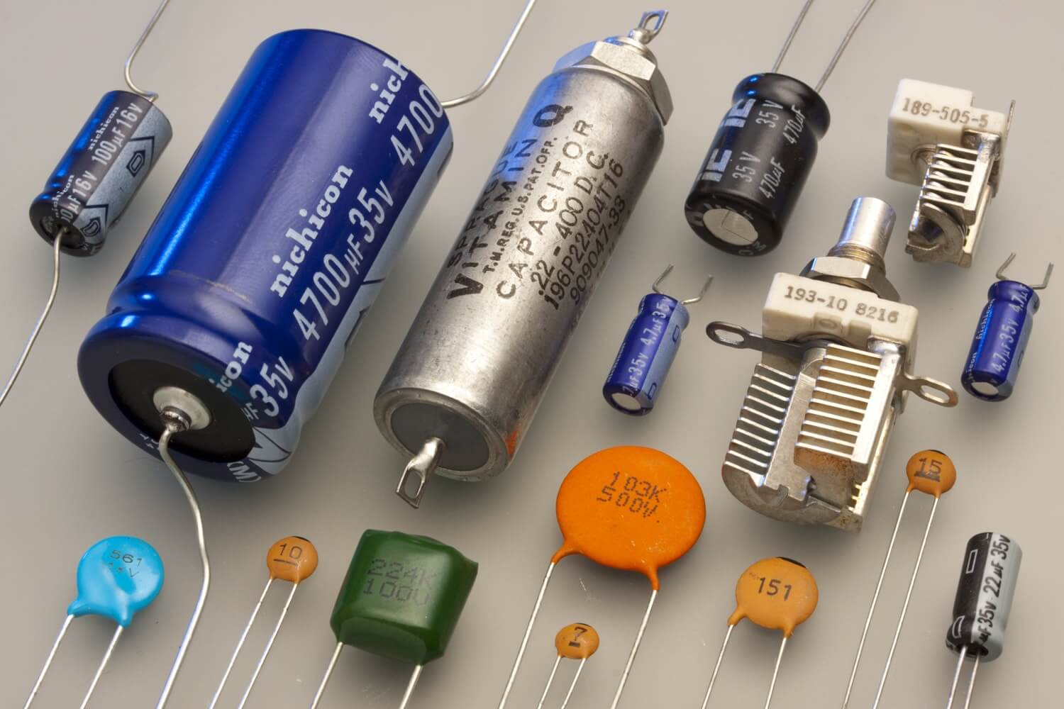 Variety of Capacitors