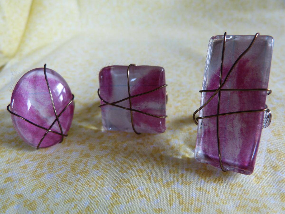 Revlon Pink Lipstick rings