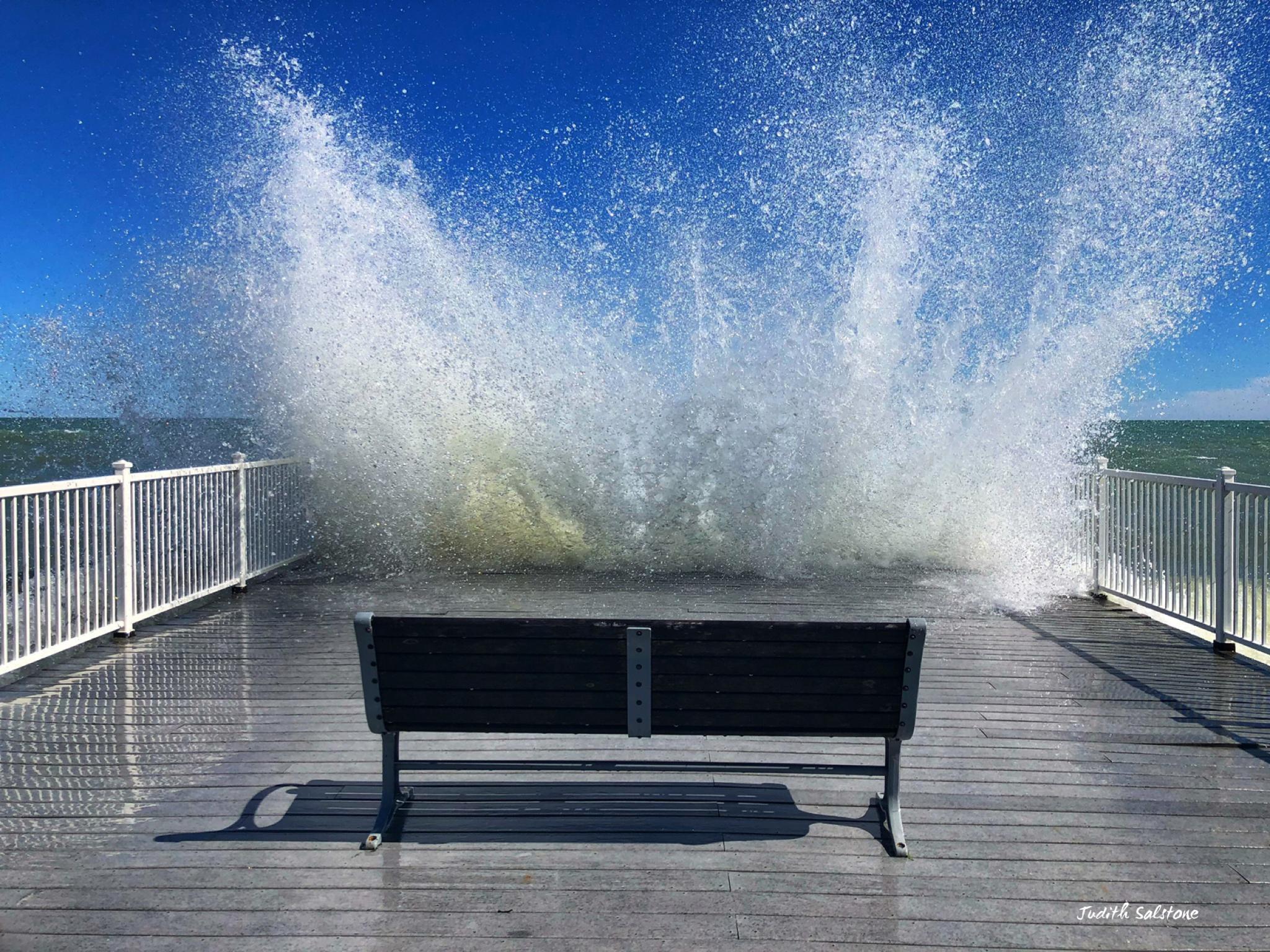 Lake Michigan Splash