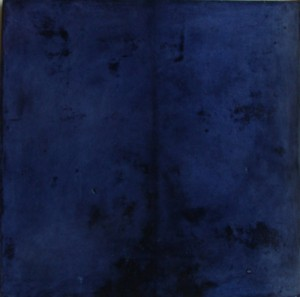 MK parchment navy blue