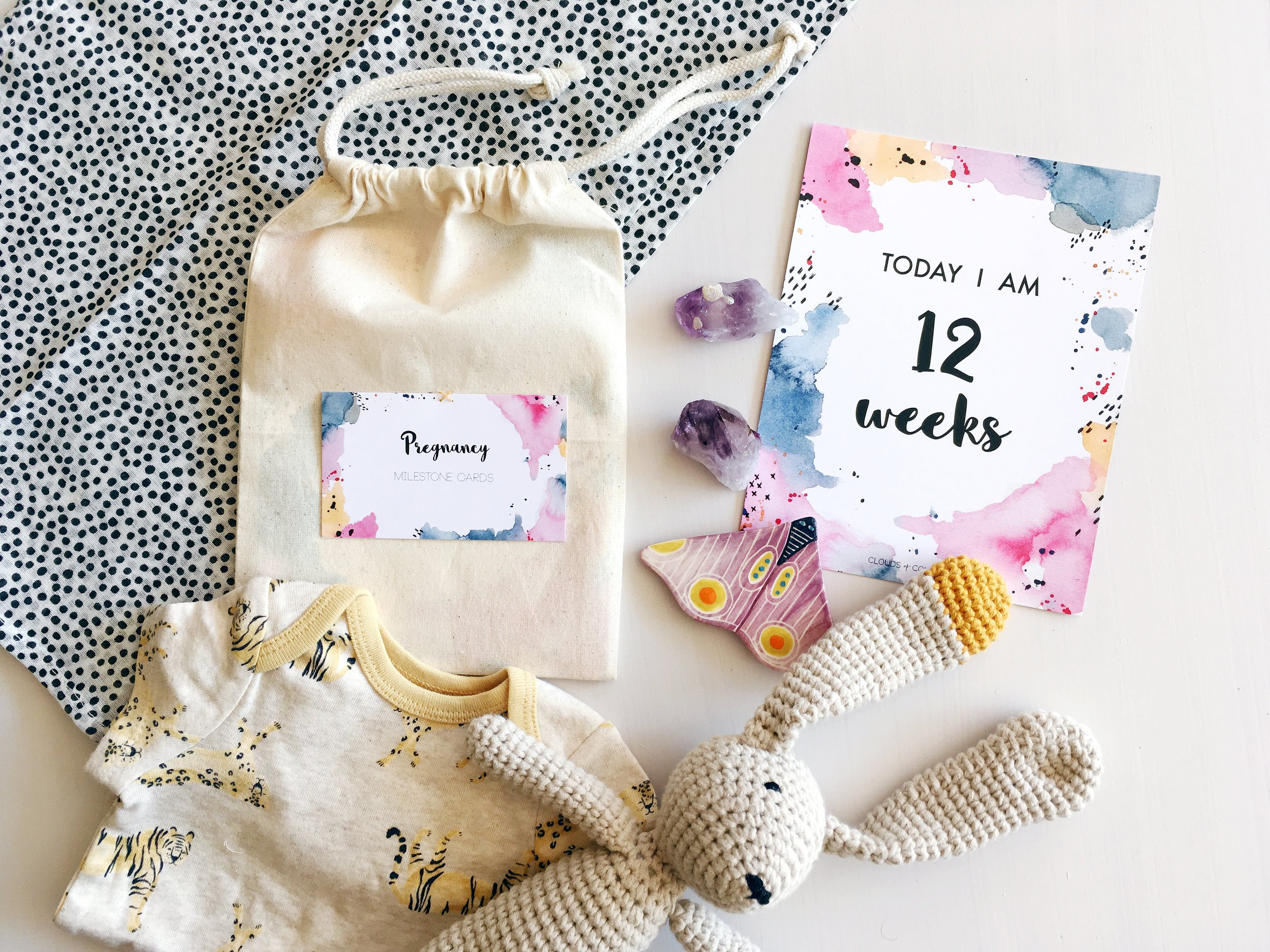 Pregnancy Milestone Card Pack