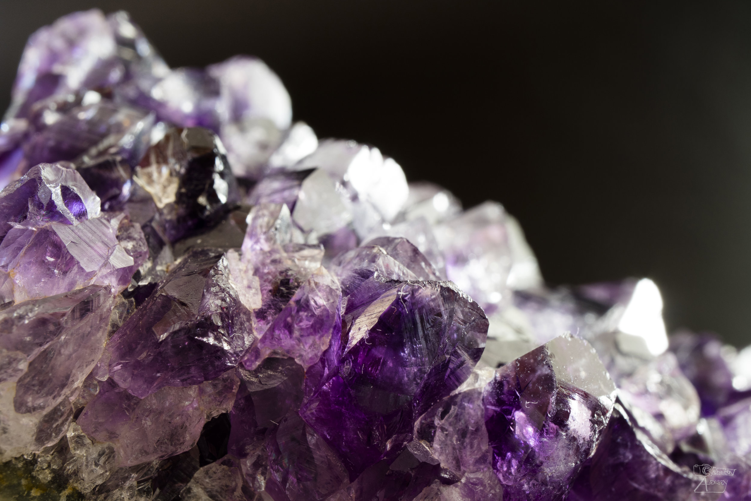 Put an amethyst under your pillow for good dreams - The amethyst is said to be a one of the strongest healing stone, enhancing your intuition and balancing the emotions.