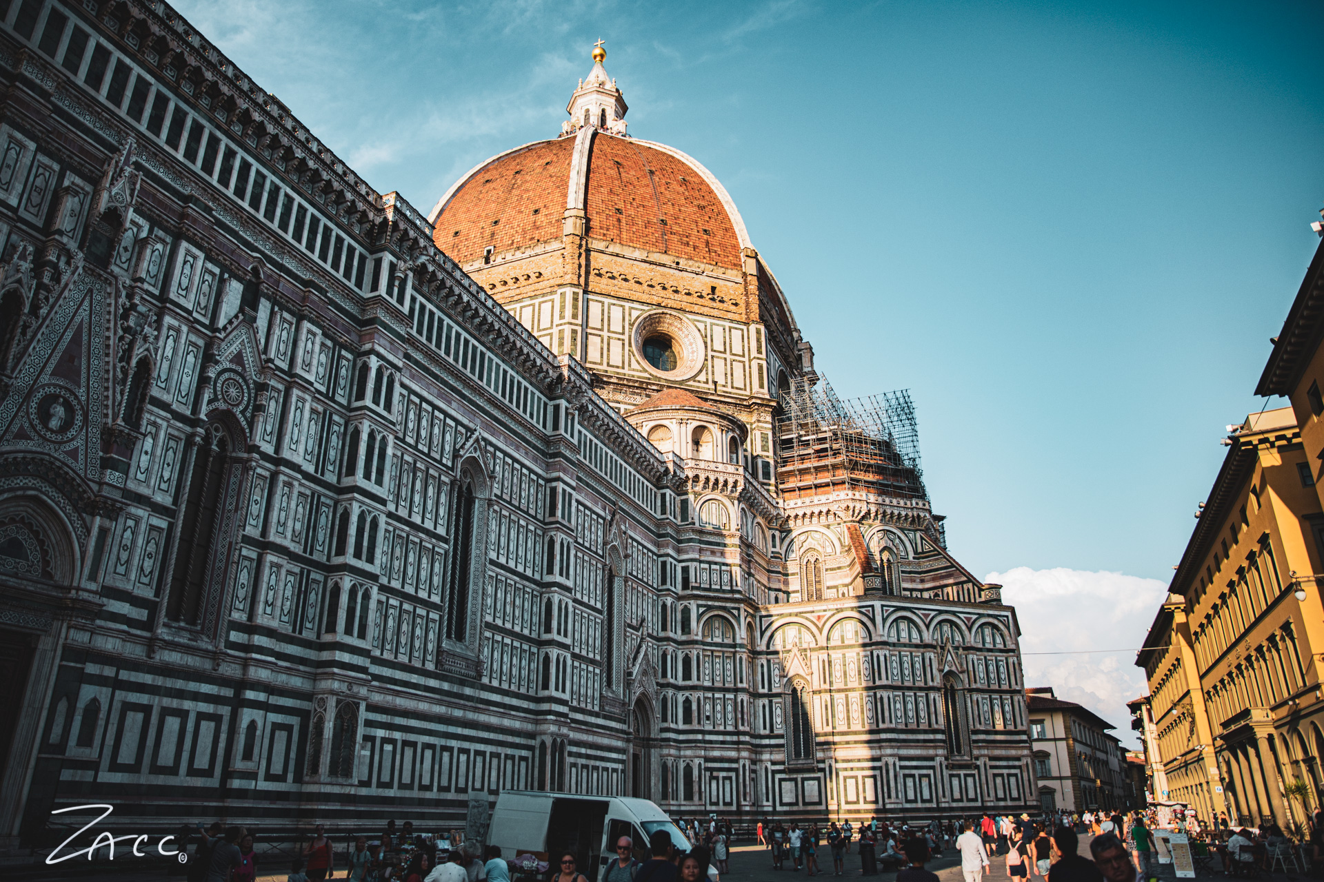 Zacc in Florence - Italy - July 2019
